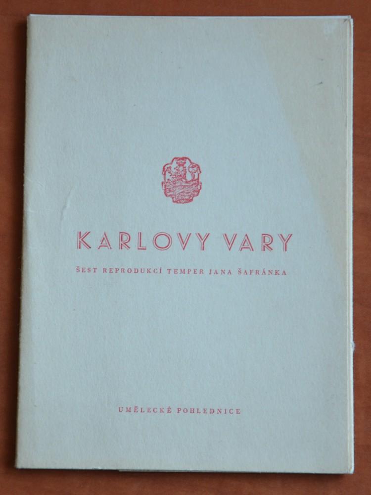 d99a195430 Karlovy Vary umělecké pohlednice